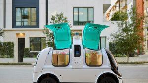 Țara în care se pot face livrări cu maşini fără şofer