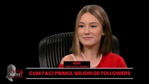Mimi, creatoare de conținut: În România, copiii nu știu absolut nimic despre educația sexuală. Nu ar trebui să fie un subiect tabu