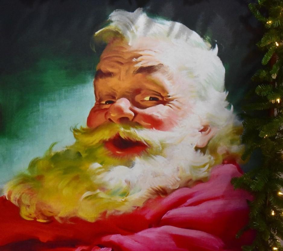 Moș Crăciun coca-cola