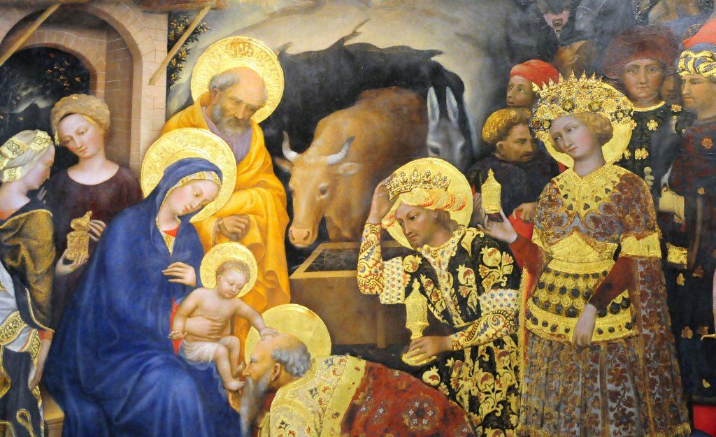Nașterea lui Iisus în seara de Crăciun