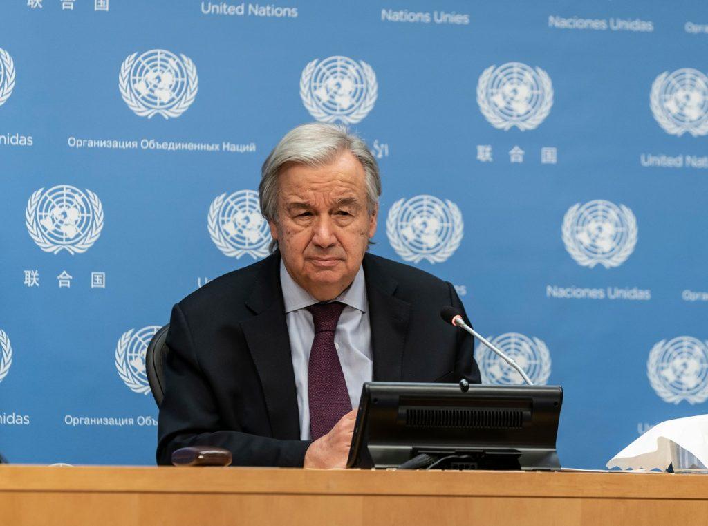 """Mesajul dur al lui Secretarului General ONU referitor la natura rănită de oameni: """"Este suicid"""""""