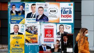 Panou afișe electorale
