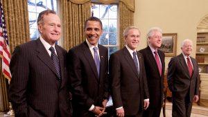 """Trei foști președinți ai SUA vor să fie vaccinați în direct: """"Bush vrea să facă tot ce îi stă în putere pentru a-i încuraja pe americani"""""""