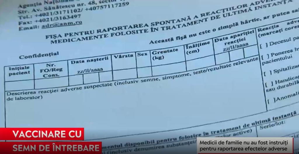 Cum pot fi raportate în România cazurile de alergie la vaccin