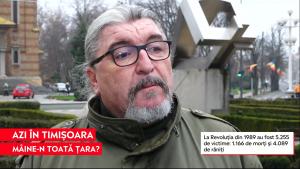 Corneliu Vaida, primul purtător de cuvânt al Revoluției din 89: La 3 metri de mine, a fost călcată prima victimă. Aud strigătul ei chiar şi acum
