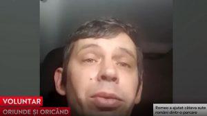 """Un român stabilit în Anglia, erou pentru câteva sute de români dintr-o parcare: """"Le-am luat câte o apă și câte un sandviș"""""""