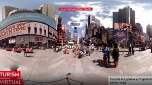"""Poți călători prin intermediul unui tur virtual. Cât plătești dacă vrei să """"mergi"""" în New York"""