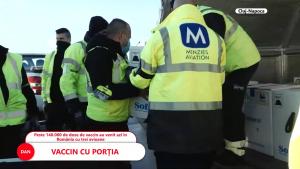 Peste 140.000 de doze de vaccin anti-COVID au ajuns azi în România. O parte din medicii pentru care este păstrat vaccinul sunt în concediu