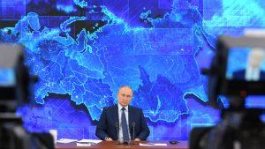 Conferința de presă a lui Vladimir Putin, la sfârșit de an