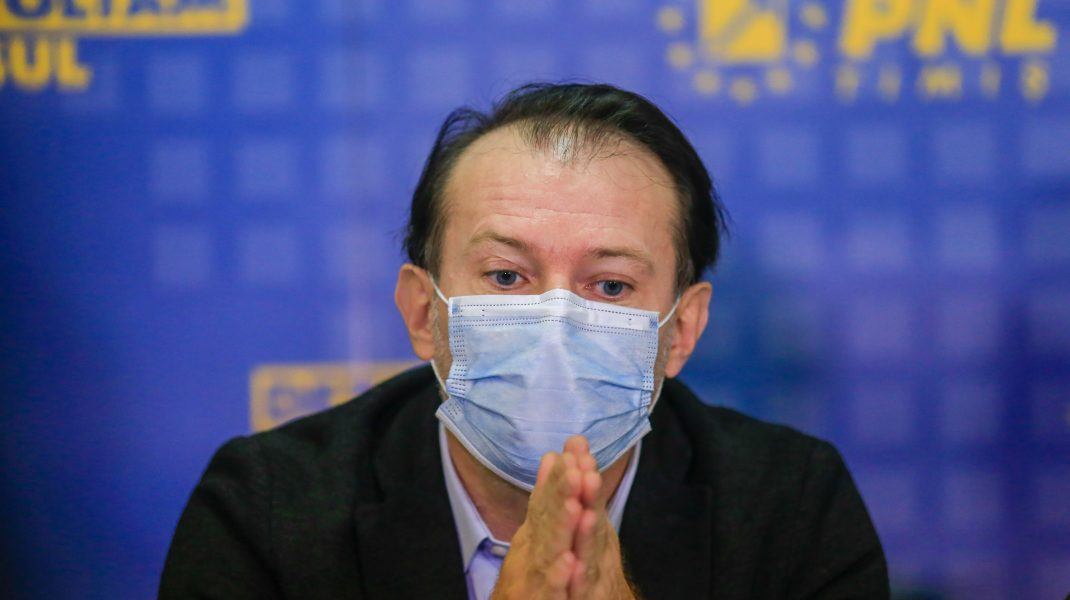 """Premierul Cîțu se laudă """"reacția eficientă și rapidă a autorităților"""" în cazul incendiului de la """"Matei Balș"""""""