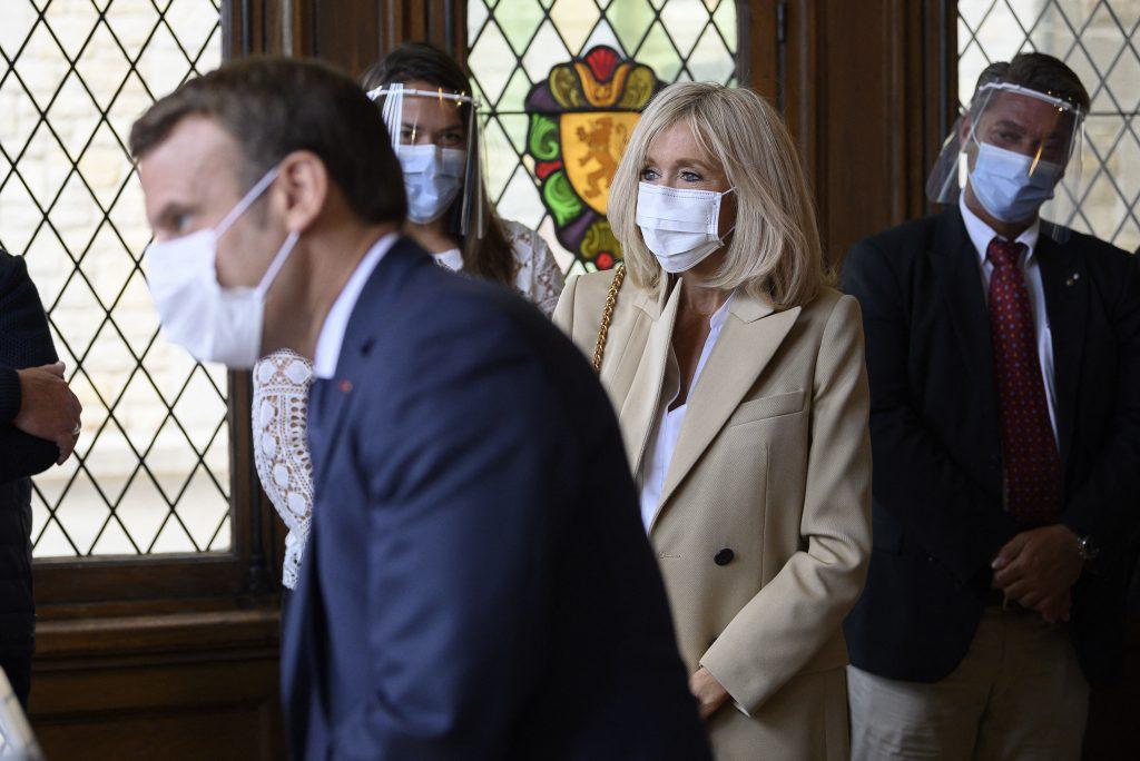 Brigitte Macron a fost infectată cu coronavirus în timpul Crăciunului