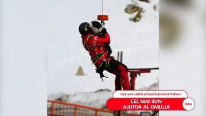 """Câinele salvamontist din Prahova care salvează oamenii prinși de avalanșă. """"Antrenamentele sunt zilnice, iar acest lucru nu se poate trișa"""""""
