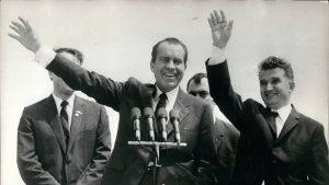 Ceaușescu Nixon