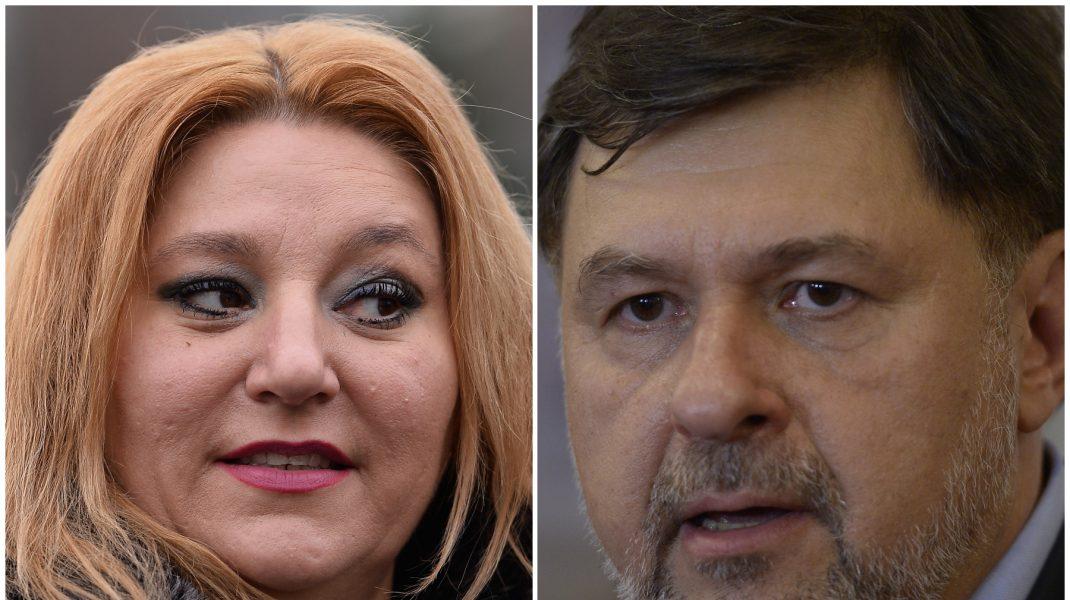 """Alexandru Rafila și Diana Șoșoacă, schimb de replici dure: """"Sunt mai inteligentă decât alții"""""""