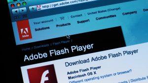 Flash Player nu mai funcționează din ianuarie