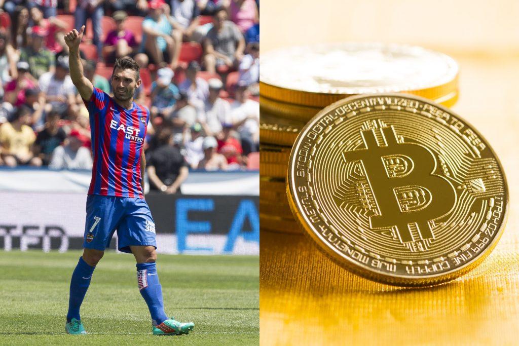 Premieră în fotbal: Transferul unui sportiv spaniol a fost plătit cu criptomonede
