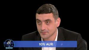 """Când va conduce AUR România. George Simion: """"Lucrăm să identificăm noi experți"""""""