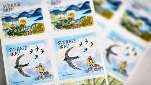 Cum a ajuns Greta Thunberg pe timbrele din Suedia. Autoritățile explică de ce au ales-o