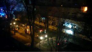 """Primele imagini video cu incendiul de la Institutul """"Matei Balș"""""""