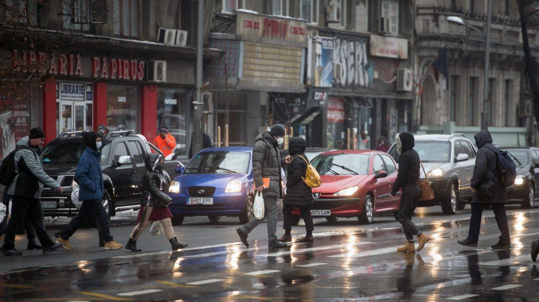 Meteo. Oameni în București