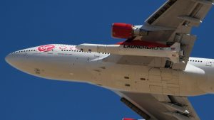 Lansare spectaculoasă din avion. Virgin Orbit a trimis pentru prima dată sateliți pe Orbită folosind un Boeing 747