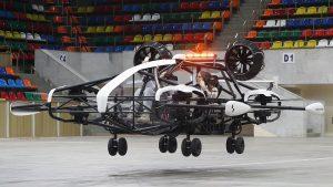 Se introduc taxiuri zburătoare la Paris. Când va fi operațional proiectul