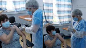 La Spitalul Găești se poate vaccina anti-COVID-19 oricine, nu doar medici. Manager: Refuz să arunc dozele de vaccin