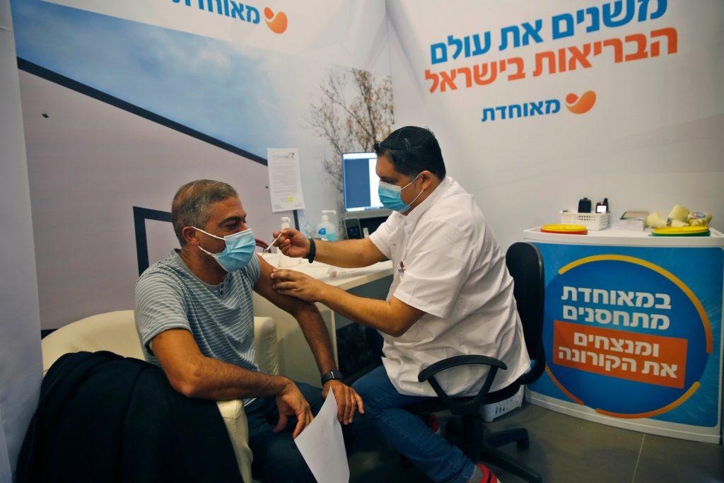 vaccinare anti covid in israel.