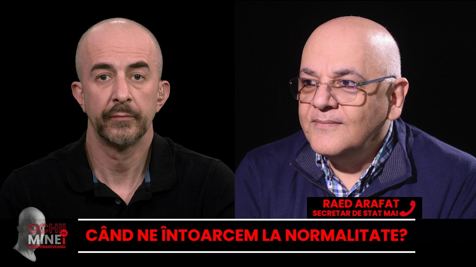 """Ochii pe mine!"", 21 ianuarie 2021. Invitați: Raed Arafat, Marian Staș și Alexandru Cojocaru"