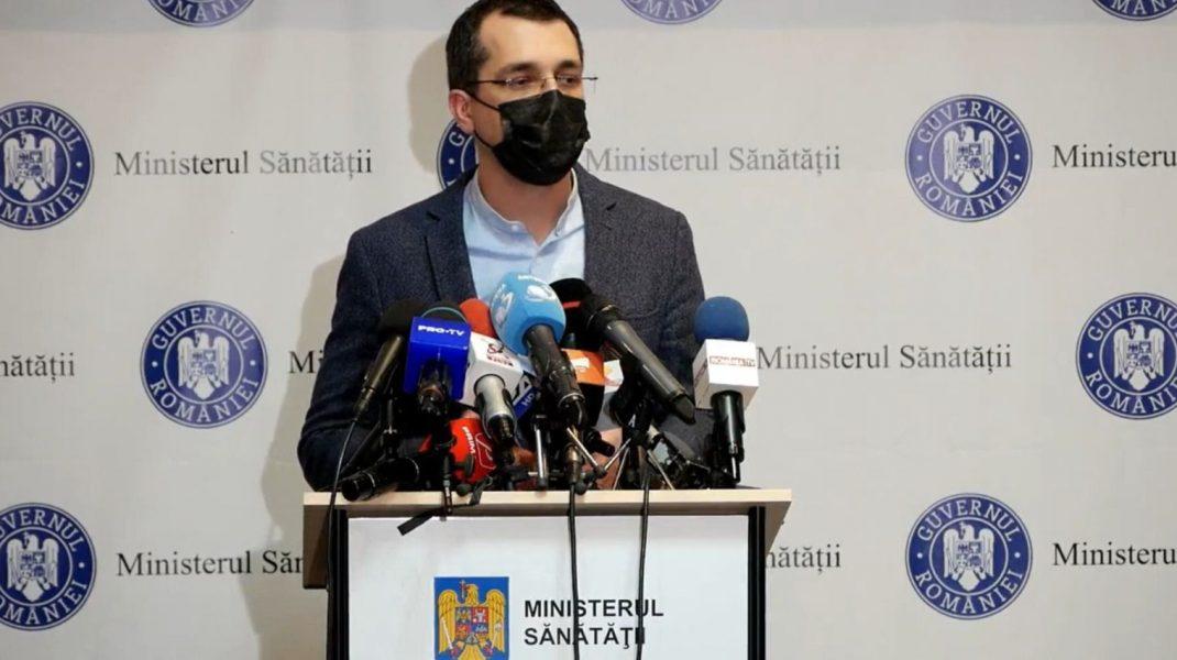 """Vlad Voiculescu, despre campania de vaccinare anti-COVID: """"În februarie vor fi vaccinate doar persoanele vârstnice și cele cu boli cronice"""""""