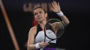 Simona Halep a fost eliminată din proba de dublu de la Australian Open