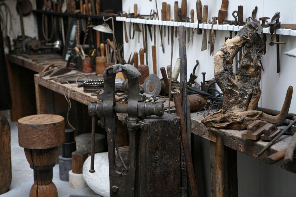Atelierul din Franța al lui Constantin Brâncuși