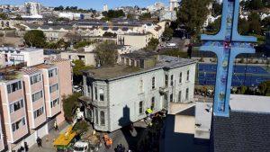 Casă mutată San Francisco