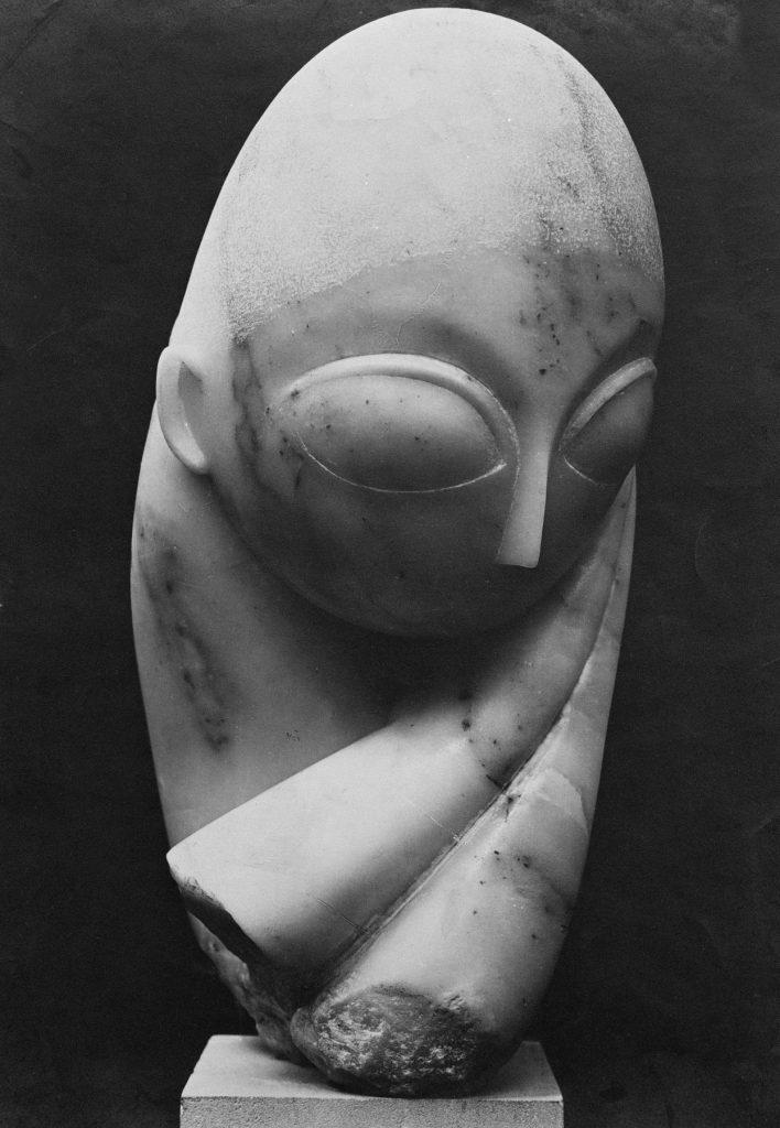 Sculptură realizată de Constantin Brâncuși