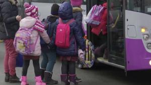Elevi autobuz