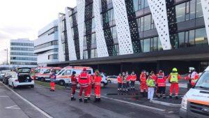 """O """"scrisoare capcană"""" a explodat în sediul central al companiei Lidl. Cel puțin trei persoane au fost rănite"""