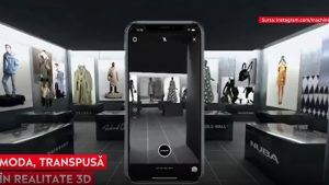 Magazinul virtual care folosește realitatea augmentată pentru a recrea experiența pe care o ai când mergi la shopping