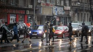 ANM: Cod galben de ploi, ninsori și viscol, de marți până joi. Județele vizate