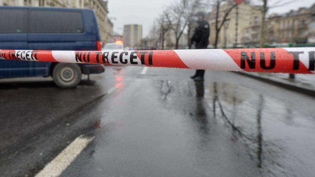 Crimă în Sibiu. Un bărbat a fost tranșat și aruncat în râu în saci menajeri