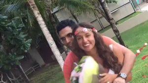 Povestea de dragoste dintre o româncă și un indian. S-au cunoscut pe Tinder, iar acum trăiesc în Los Angeles