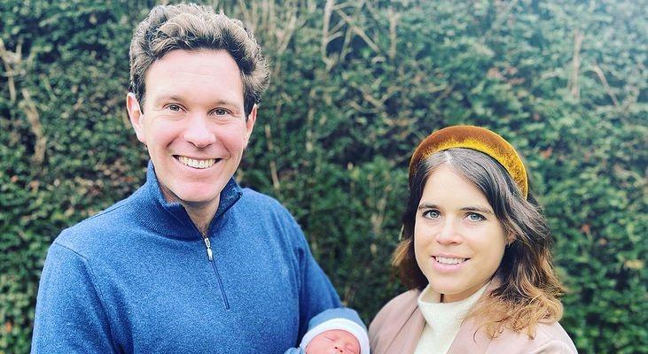 Prima fotografie cu bebelușul prințesei Eugenie, nepoata reginei Elisabeta. Ce nume i-a pus, în semn de omagiu pentru prințul Philip. FOTO