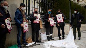 Protest farfurii sparte Spania