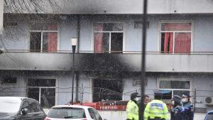 """Încă un pacient care fusese internat la Institutul """"Matei Balş"""" în pavilionul afectat de incendiu a murit. În total, 16 oameni au decedat"""
