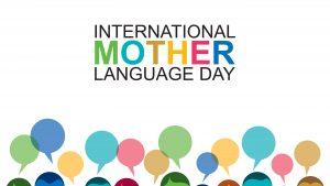 Astăzi este ziua limbii materne