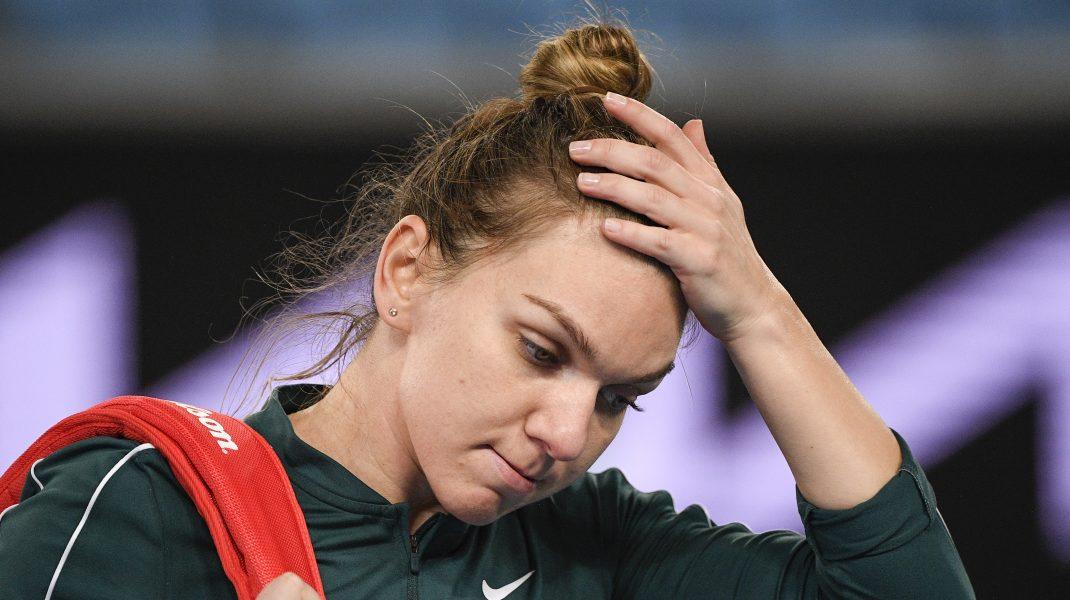 Starea de sănătate a Simonei Halep, după ce în meciul cu Alexandrova a avut dureri la spate. Mesajul transmis de sportivă