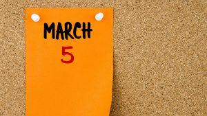 ȘTII ce zi e azi. Evenimente care au marcat data de 5 martie
