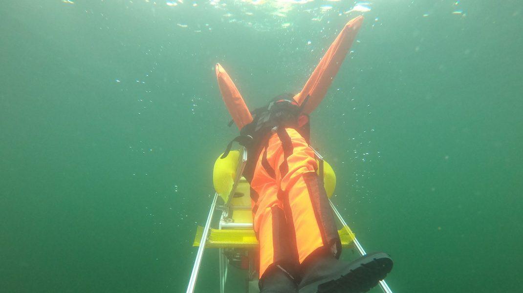 Robot-salvamar-în-timpul-testelor