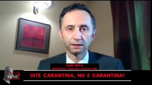 Alin Nica, președintele CJ Timiș: Protestele oamenilor sunt justificate! Rezistența la restricții a fost depășită și oamenii nu mai au răbdare!