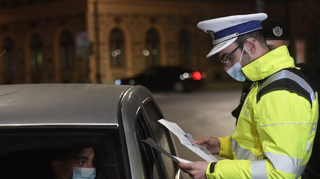 Carantină polițist
