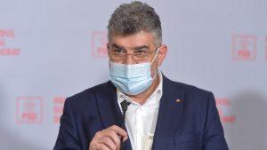 marcel ciolacu in conferinta de presa la psd